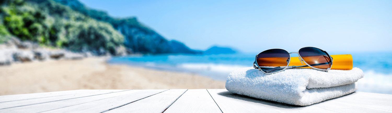 serviettes plage